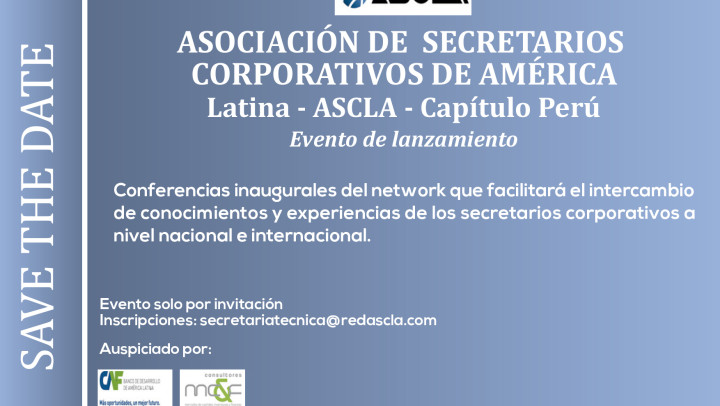 Lanzamiento del network de secretarios corporativos de Latinoamerica